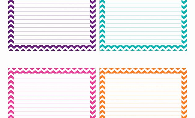 Printable Index Cards 4×6 That Are Ridiculous | Sherry's Blog Intended For 3X5 Blank Index Card Template
