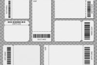 Ticket Templates. Blank Admit One Festival Concert Theater Pertaining To Blank Admission Ticket Template