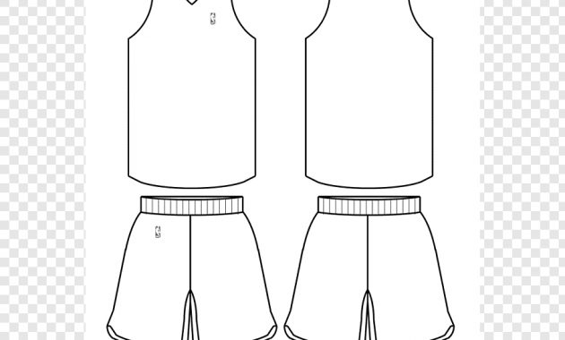 White Front And Back Nba Basketball Jersey Illustrations pertaining to Blank Basketball Uniform Template