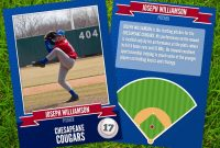 12+ Baseball Trading Card Designs & Templates – Psd, Ai pertaining to Custom Baseball Cards Template
