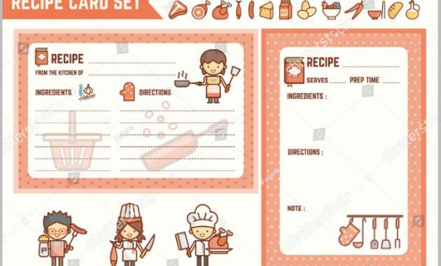 14+ Restaurant Recipe Card Templates & Designs – Psd, Ai within Restaurant Recipe Card Template
