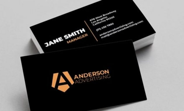 18+ Agency Business Card Templates – Word, Psd, Indesign intended for Advertising Cards Templates