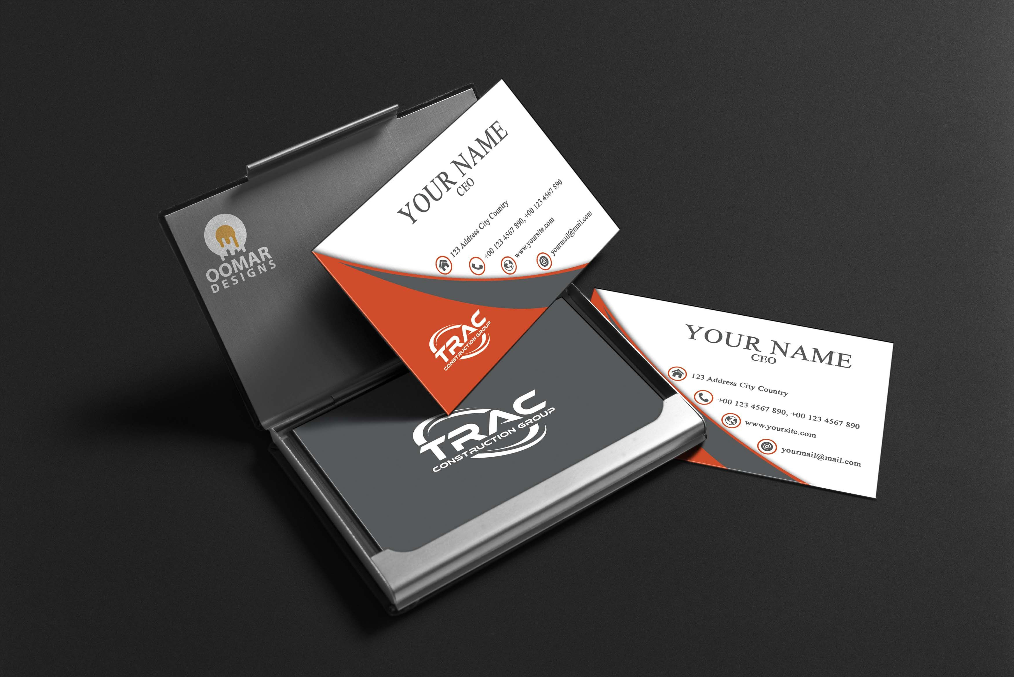 2 Sided Business Card Template Word In 2020   Double Sided In 2 Sided Business Card Template Word