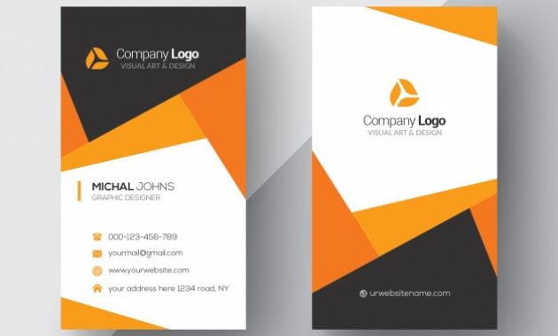 20 Professional Business Card Design Templates For Free In Psd Visiting Card Templates