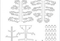 21+ Super Ideas For Paper Tree Template Pop Up #tree in Pop Up Tree Card Template