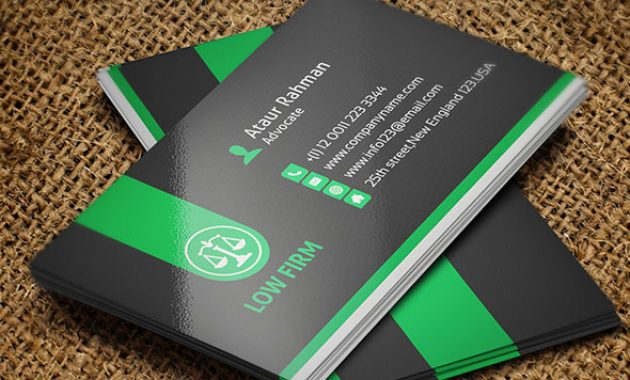 25 Creative Lawyer Business Card Templates – Smashfreakz inside Legal Business Cards Templates Free