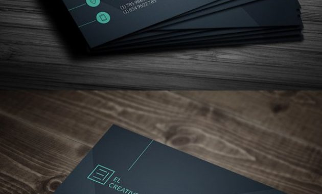 25 New Professional Business Card Templates (Print Ready With Regard To Professional Name Card Template