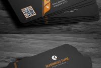 27 New Professional Business Card Psd Templates inside Psd Visiting Card Templates