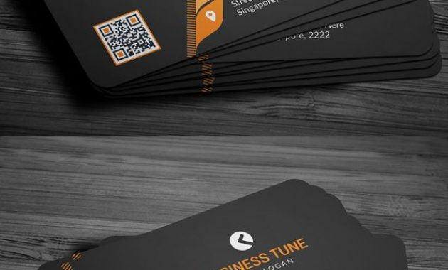 27 New Professional Business Card Psd Templates Within Professional Name Card Template