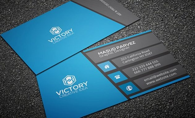 32+ Modern Business Card Templates – Word, Psd, Ai, Apple pertaining to Psd Name Card Template
