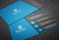 32+ Modern Business Card Templates – Word, Psd, Ai, Apple With Psd Visiting Card Templates