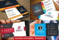 40 Professional Free Business Card Templates With Source pertaining to Professional Business Card Templates Free Download