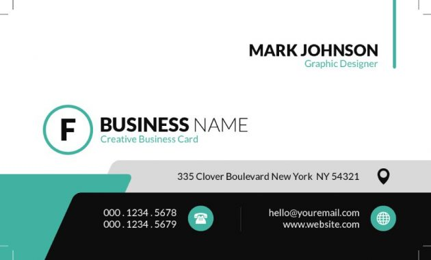 43 Free Business Card Templates – Free Template Downloads inside Call Card Templates