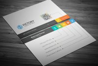 50+ Best Free Psd Business Card Templates For Commercial Use Pertaining To Psd Name Card Template