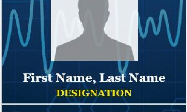 6 Best Medical Staff Id Card Templates Ms Word | Microsoft throughout Hospital Id Card Template