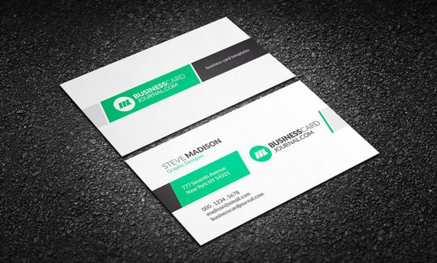 75 Free Business Card Templates That Are Stunning Beautiful Throughout Professional Name Card Template