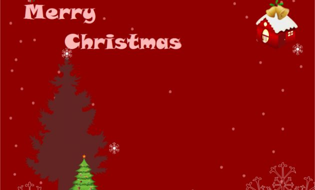 A Free Customizable Christmas Card Template Is Provided To pertaining to Christmas Photo Cards Templates Free Downloads
