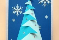 A4 Card Making Templates For 3D Christmas Tree Embellishment intended for 3D Christmas Tree Card Template