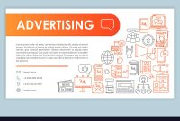 Advertising Web Banner Business Card Template with regard to Advertising Cards Templates
