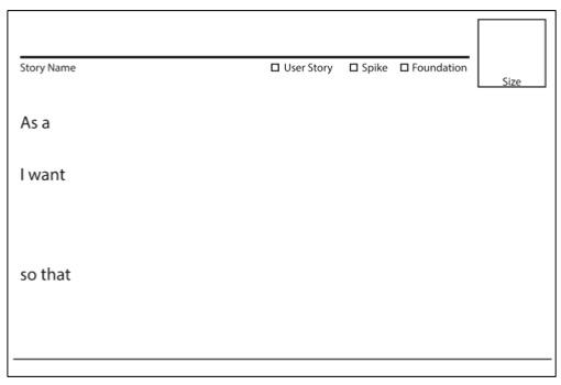 Agile Story Card Templates - Solutionsiq Pertaining To Agile Story Card Template