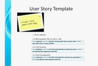 Agile User Story Template Model | User Story Template, Story within Agile Story Card Template