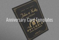 Anniversary Card Template – 10+ Free Sample, Example Format intended for Anniversary Card Template Word