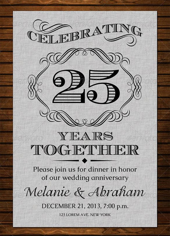 Anniversary Card Templates – 12+ Free Printable Word, Pdf With Regard To Anniversary Card Template Word