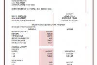 Bank Statement Template | Statement Template, Credit Card inside Credit Card Bill Template