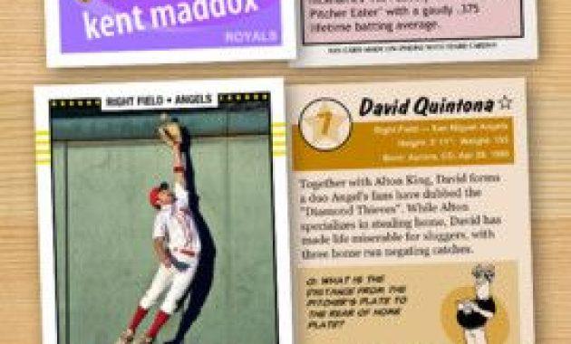 Baseball Card Maker – Make Your Own Custom Baseball Cards intended for Custom Baseball Cards Template