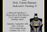 Batman Birthday Invitations Invitation Template | Birthday pertaining to Batman Birthday Card Template