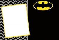 Batman Invitation. | Batman Invitations, Batman Birthday regarding Batman Birthday Card Template