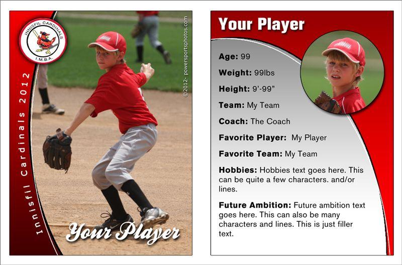 Best Custom Baseball Cards Template - Best & Professional with regard to Custom Baseball Cards Template