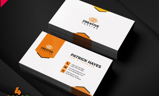 Business Card Design Free Psd Set | Psddaddy inside Psd Visiting Card Templates