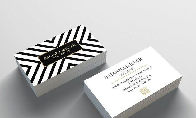 Business Card Template – 2 Sided Business Card Design In 2 Sided Business Card Template Word