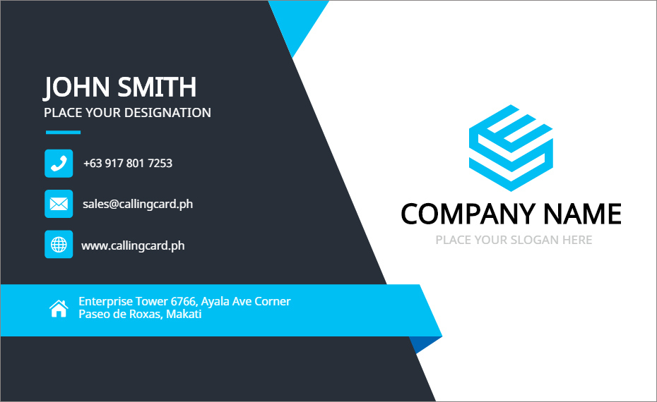 Business Card Template Free Vector – Personalized Design for Call Card Templates