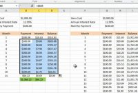 Calculating Credit Card Payments In Excel Youtube Within pertaining to Credit Card Interest Calculator Excel Template