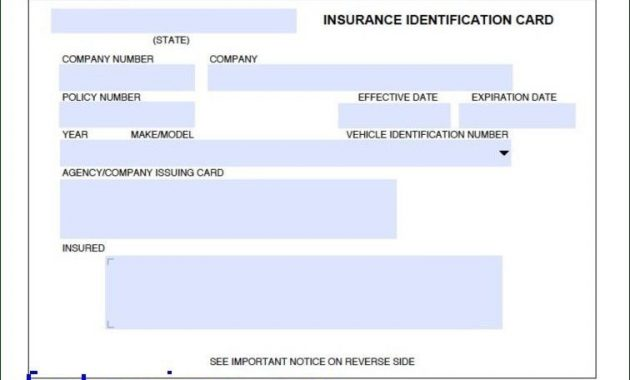 Car Insurance Card Template Download Fotorise Intended For Inside Proof Of Insurance Card Template