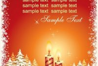 Christmas Card Vector Template Free Vector In Encapsulated in Christmas Photo Cards Templates Free Downloads