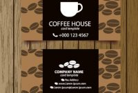 Coffee Shop Business Card Free Vector Download (27,306 Free in Coffee Business Card Template Free
