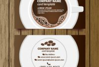 Coffee Shop Business Card Free Vector Download (27,306 Free inside Coffee Business Card Template Free