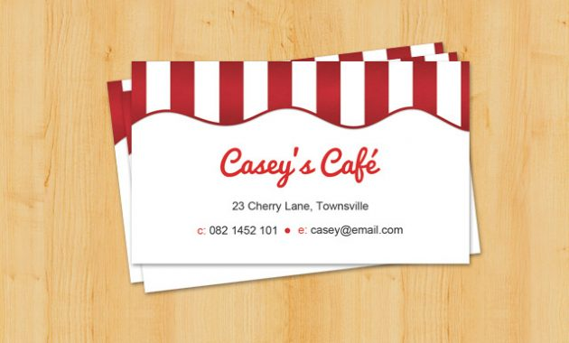 Coffee Shop Business Card Template {Free Psd} throughout Coffee Business Card Template Free