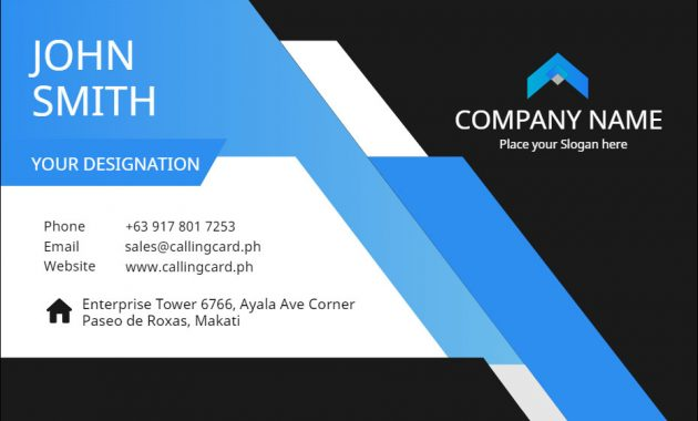Corporate Business Card Template – Personalized Design for Call Card Templates