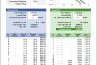 Credit Card Balance Transfer Calculator For Excel regarding Credit Card Interest Calculator Excel Template