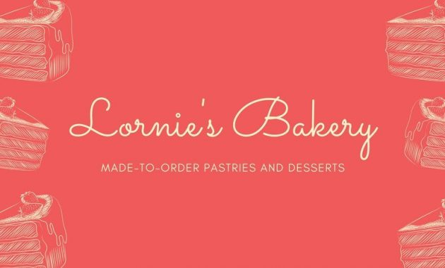 Customize 23+ Cake Business Cards Templates Online – Canva intended for Advertising Cards Templates