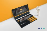 Double Sided Business Card Design Template In Word, Psd regarding 2 Sided Business Card Template Word