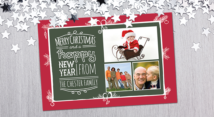Download Free Photo Christmas Card Templates With Regard To Christmas Photo Cards Templates Free Downloads