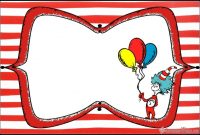 Dr. Seuss Invitations For Perfect Party | Invitation World with regard to Dr Seuss Birthday Card Template