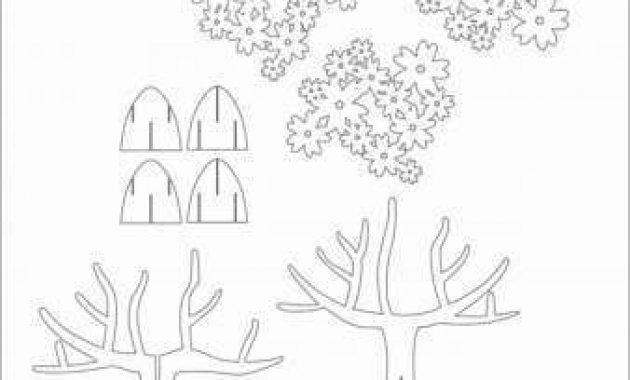 Elegant Origami Pop Up Card Templates | Heart Pop Up Card in Pop Up Tree Card Template