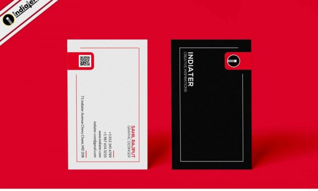 Free Advertising Company Business Cards Psd Template – Indiater with Advertising Cards Templates