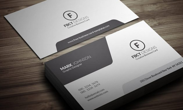 Free Business Card Designs Templates pertaining to Free Bussiness Card Template